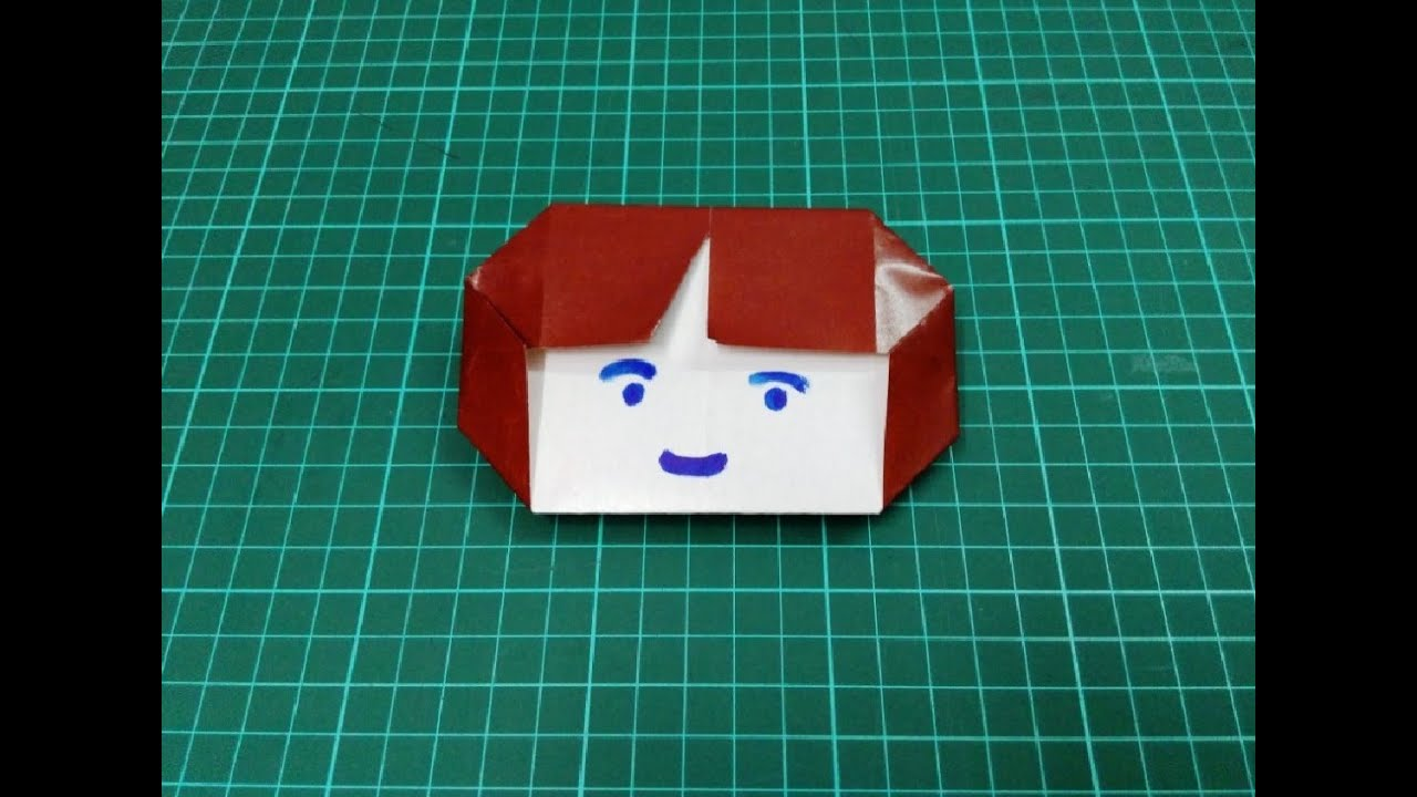 How To Make Origami Paper Girl Face