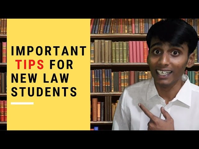 Top Tips for New Law Students