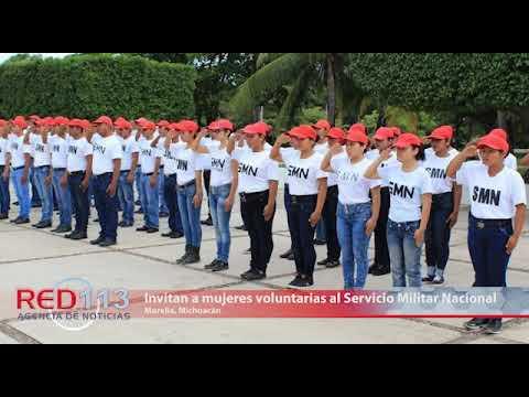 VIDEO Invitan a mujeres voluntarias al Servicio Militar Nacional