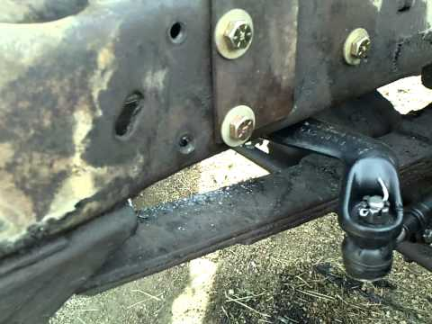 1968 ford f 250 4x4 power steering conversion youtube
