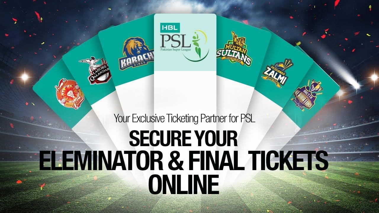 PSL 3 Season | PSL Final Tickets | PSL 2018 - Yayvo com