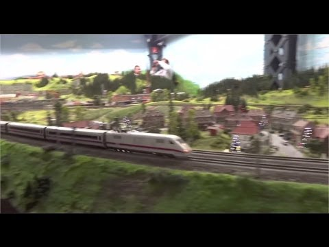 Miniatur Wunderland in Hamburg - the largest model railway and model airport in the world