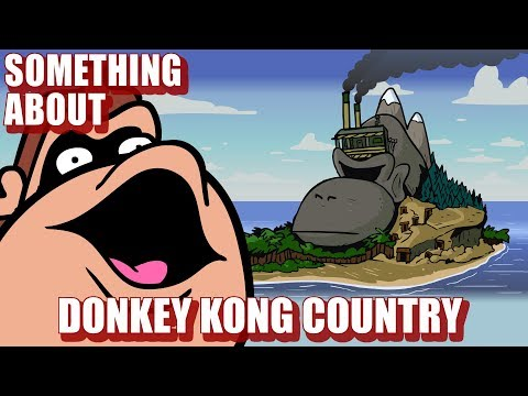 Something About Donkey Kong Country ANIMATED 🐒 (Flashing Lights & Loud Sound Warning)🍌🍌🍌🍌🍌🍌🍌