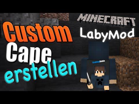 LabyMod Custom Cape erstellen! | Tutorial