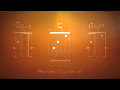 The King Is Among Us - (Video Chord Chart with Lyrics)