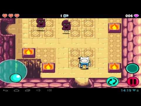 Adventure Time Heroes of Ooo the game - Android gameplay