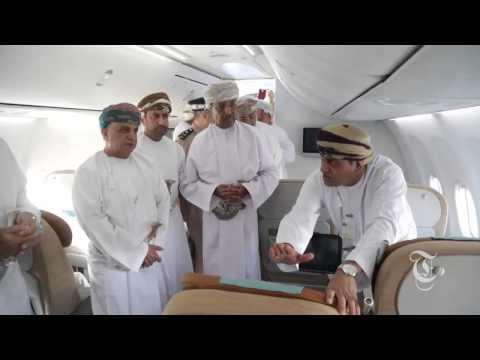 Inauguration of Oman Air new aircraft