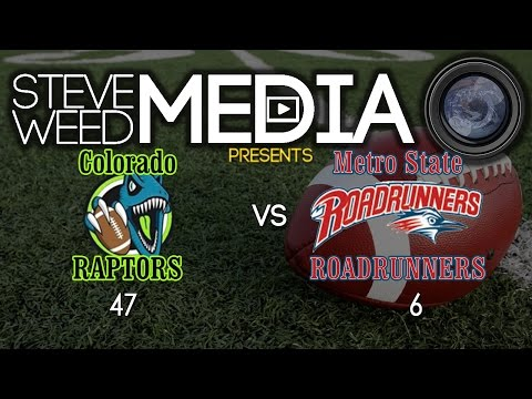 Colorado Raptors vs Metro State Roadrunners - 5-7-17
