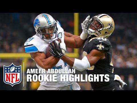 Ameer Abdullah 2015 Rookie Season highlights | NFL