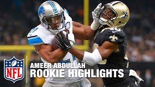 Ameer Abdullah 2015 Rookie Season highlights | NFL