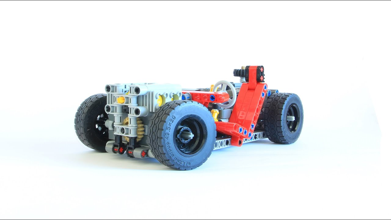 LEGO TECHNIC Super Car Frame - YouTube