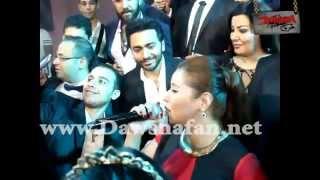 ايناس عز الدين اغنية ياأنا يا مفيش من حفل زفاف ريم رافت