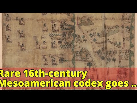 Rare 16th-century Mesoamerican codex goes online at the Library of Congress - LA Times
