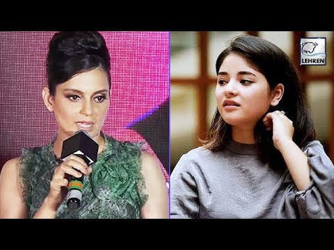 Kangana Ranaut Speaks About Zaira Wasim's Decision To Quit Bollywood | LehrenTV Mp3