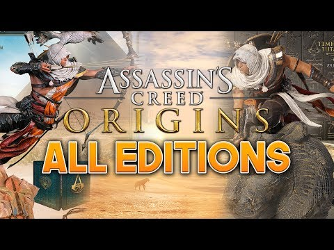 Assassin's Creed Origins | WHICH EDITION SHOULD YOU BUY? – Deluxe, Gold & Collectors Editions