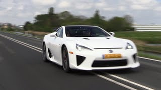 Lexus LFA Tokyo Edition - Acceleration & Fly By SOUNDS!