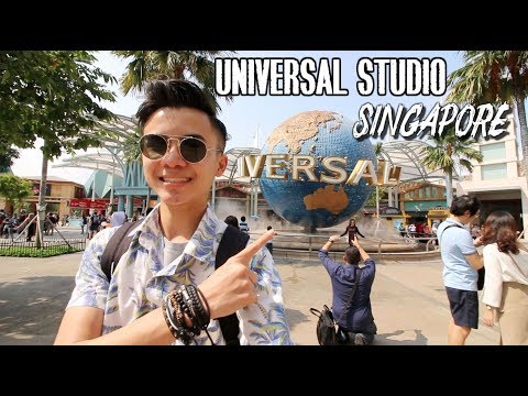 4 HOURS IN UNIVERSAL STUDIO SINGAPORE