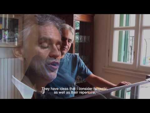 Andrea Bocelli talks about CARisMA