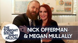 Nick Offerman and Megan Mullally Slow Dance at The Tonight Show