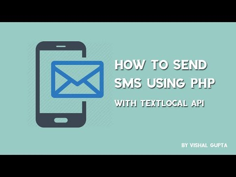 How To Send SMS Using PHP | Textlocal API