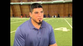 Roberto Garza Shares About a Relative's Diabetes and Vision Loss