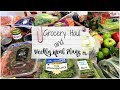 Healthy Grocery Haul #77 | Weekly Meal Plans | Weight Watcher Smart Points