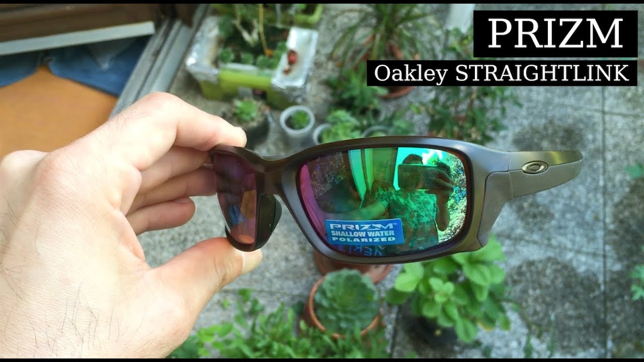 Oakley Mainlink Prizm >> OAKLEY STRAIGHT LINK PRIZM UNBOXING Review 2016 - YouTube