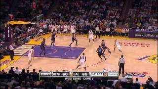2010 Playoffs Lakers vs Jazz Game 1 Highlights - HD