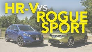 2018 Nissan Rogue Sport/Qashqai vs Honda HR-V Comparison
