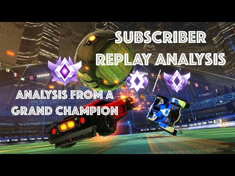 Subscriber Replay Analysis C2/C3 3v3 | Analysis From a Grand Champion | Rocket League