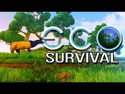 ECO: Survival - 2 - HR Puffinstuff (Open World Survival Gameplay)