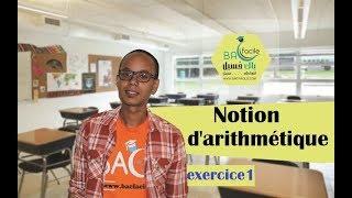 Download Video tcs international  جدع مشترك دولي : Notion d'arithmétique  --- exercice 1--- MP3 3GP MP4