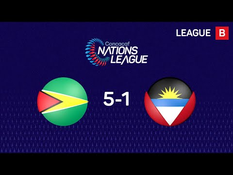 #CNL Highlights - Guyana 5-1 Antigua