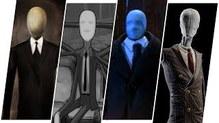 Slender Man Evolution in Movies, Cartoons & TV.