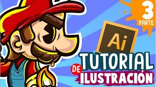TUTORIAL - Como dibujar en adobe Illustrator con Mouse - Herramientas y Linea