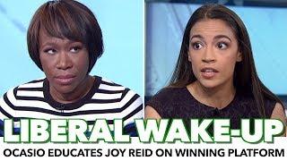 Ocasio-Cortez Educates Joy Reid On How To Win With Policy
