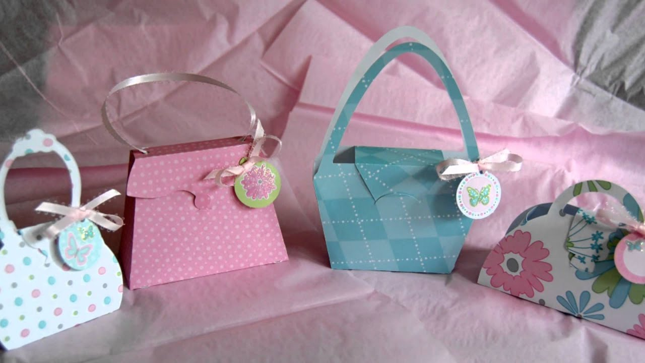 Paper Purse/Party Favors - For Sale - SOLD - YouTube
