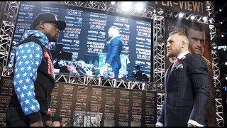 Mayweather vs McGregor World Tour: Los Angeles Recap
