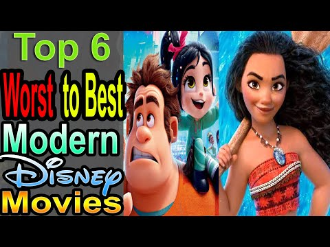 6 Worst to Best Modern Disney Movies (2016-2019 Animated)