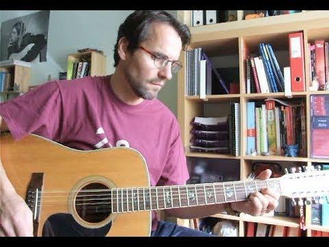 Short And Sweet - Roy Harper (guitar Tutorial)