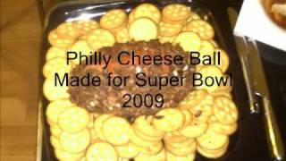 Philly Cheese Football