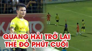 Highlights | SHB Đà Nẵng - Hà Nội FC | Quang Hải trở lại, thẻ đỏ phút cuối | NEXT SPORTS
