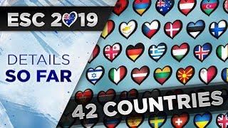 Eurovision 2019: Details So Far!