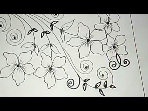Inilah Gambar Batik Bunga Ornamen 9 Paling Dicari