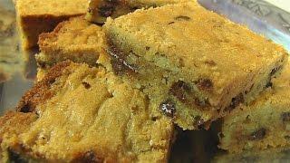 Betty's Pecan-Chocolate Chip Blondies