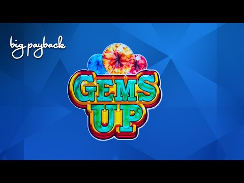 Gems Up Slot - NICE SESSION, ALL FEATURES! - 동영상