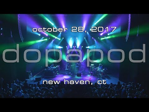 Dopapod: 2017-10-28 - College Street Music Hall; New Haven, CT [4K]