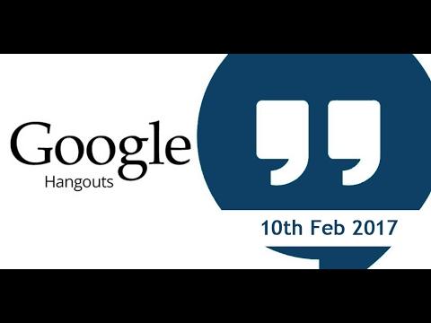 Singer Vielle CPD Accredited Google Hangout - 10th Feb 2017
