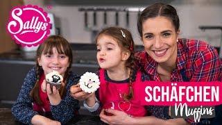 Kinder Rezept: Schäfchenmuffins / Mit Ela & Samira / Sallys Welt