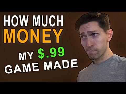 My Indie Game Sales | How Much Money My One Dollar Indie Title Made